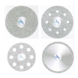 Dental diamond disc - Single side plated