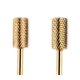 Nail carbide burs - Gold coating